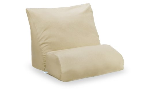 Contour Products, Flip Pillow Cover, Beige, Standard Size (20 inch Width)