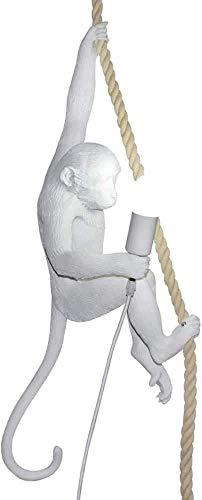 Lámpara de mono de arte creativo moderno lámpara de mesa de mono lámpara de pared de mono candelabros de mono nórdicos adecuado para el diseño de interiores de dormitorios salas de estu