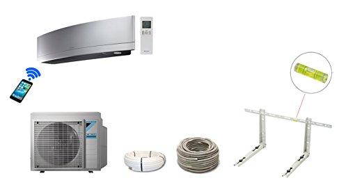 Daikin Inverter Design-Split-Klimaanlage Emura FTXG25LS silber 2,5 kW A++ / A++