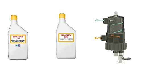 Foridra Serie PULIPM1 Pulipro Mag 100 (0,5 kg IDRATERM 110 + 0,5 kg IDRATERM 805 + 1 IDRAMAG)