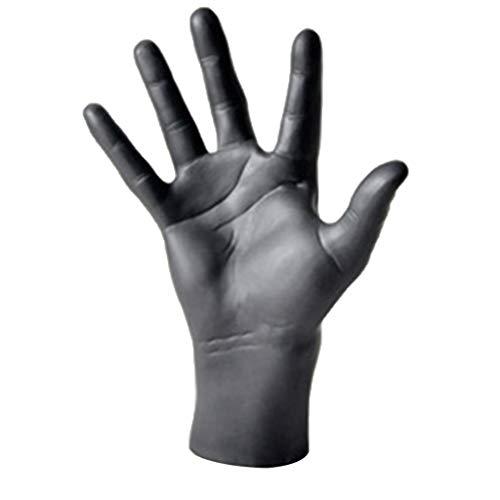 perfk 1 Stück Schaufensterpuppe Hand Dekohand Schmuckhand, Ring Armband Handschuhe Display Präsentationshand - Schwarz