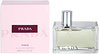 Prádá Amber by Prádá For Women Eau de Parfum Spray 2.7 OZ./ 80 ml.