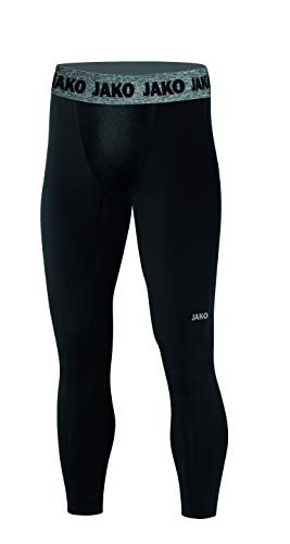 JAKO Herren Long Tight Compression 2.0, schwarz, L