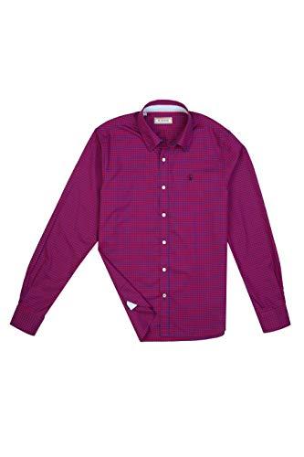 El Ganso Urban Iconic Camisa casual, Rojo (Rojo 0021), Small