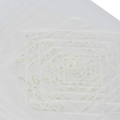 Zopsc-1 Plantilla de Dibujo, Herramientas de Pintura de Bricolaje, Herramientas de Pintura, Kit de Plantillas de Pintura, Plantillas de Pintura, para Pisos, mesas, gabinetes, Azulejos