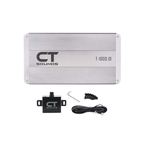 CT Sounds T-1000.1D Class D Monoblock Amplifier Car Audio, 1000 Watts RMS