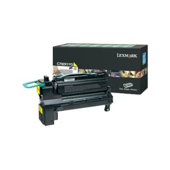 Smart Print Supplies Compatible C792 C792X1YG Yellow Extra High Yield Toner Cartridge Replacement for Lexmark C792 C792X2UG C792X4YG Printers 20,000 Pages