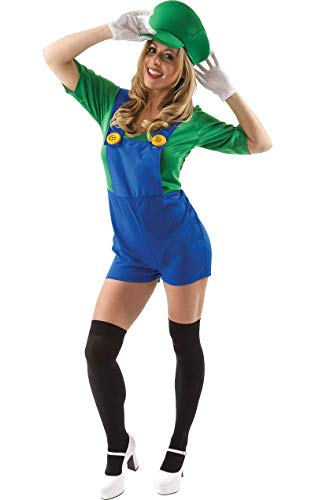 ORION COSTUMES Déguisement Adulte Costume Femme Amie du Super Plombier