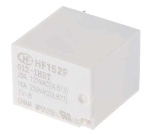 RS PRO Monostabiles Relais, 12V dc Spule, 1-poliger Schließer