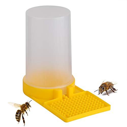 Colmena Apicultura Dispensador de Agua, Cuenco para beber abeja con entrada de miel, alimentador de agua para apicultura, equipo para mantener la abeja, Abeja Beber Herramienta Copa