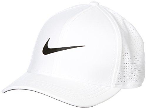 NIKE AeroBill Classic99 Gorra de béisbol, Blanco (Blanco 100), One Size (Tamaño del Fabricante:S/M) para Hombre