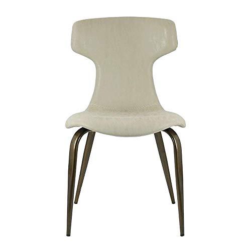 N&O Renovierungshaus Esszimmerstühle Esszimmerstuhl Nordic Light Weiche Vorhaut Freizeitstuhl Modern Minimalist Für Zuhause Moderner Esszimmerstuhl (Color : Brown 1 Size : 48x56x82cm)