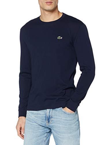 Lacoste Sport TH0123 Camiseta, Marine, Large (Talla del Fabricante: 5) para Hombre