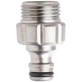 Gardena Tuyau d'arrosage en métal Premium 39022-g Adaptateur mâle