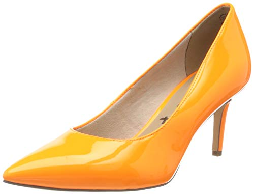 Tamaris Damen 1-1-22421-24 Pumps, Orange (Orange Neon 610), 38 EU