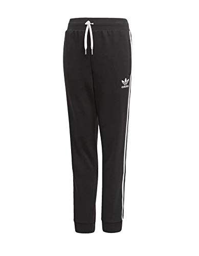 Adidas Trefoil Pants, Pantalone Unisex-Bambini, Nero (Black/White), 13-14 Anni