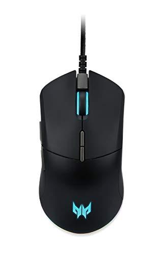 Predator Mouse Cestus 330, Mouse Gaming , Design Ergonomico, Fino a 16000 DPI, 5 Livelli DPI Shift Setting, 7 Tasti Programmabili, 400 IPS, Accelerazione 40g, Polling Rate 1ms/1000Hz, Cavo 1.8 m