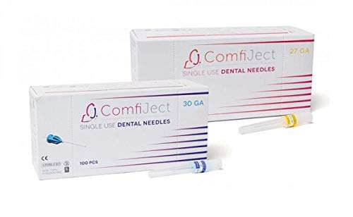 Comfiject Premium Max 66% OFF Dental Needles 30G SHORT 21mm 0.3 x 1 Japan's largest assortment