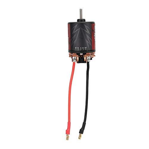 Dilwe 1/10 RC Car 11/13/16/20 T 5-Slot Brushed Motor + 60A ESC für Surpass 540 Kohlebürsten Power Pack(11T+60A ESC)