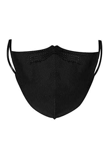 RESPILON Nano FFP2 Atemschutzmaske RespiPro Carbon Atemschutzgerät | 95% Staubschutz und Schutz vor Partikeln | Unisex Hochwirksame Schutzmaske Mund- und Nasenschutz | | 3 Stücke (L)