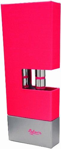 Dimo 10613502 - Balmain, Penna a Sfera Modello 'Allier', Colore: Rosso