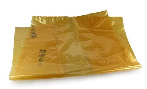VCI-Folie Seitenfaltenbeutel 1250 + 850 x 1400 mm (Innenmaß) / KORROSIONSSCHUTZ ** Verpackungseinheit: 40 Stück **