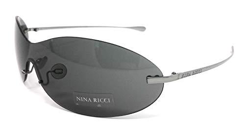 Nina Ricci OCCHIALI DA SOLE DONNA NR 3457 NERO E011 F676 NUOVO CON DIFETTO