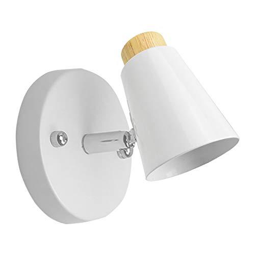 GZQ LED Wandleuchte Kreative Wandleuchte für Babyroom Wohnzimmer Badezimmer Schlafzimmer Korridor Flur Festival Dekoration (White)