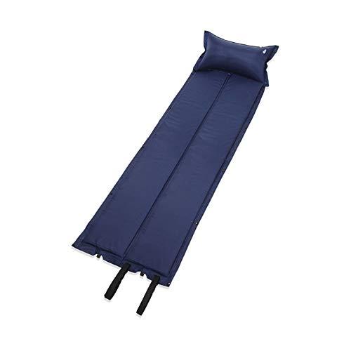 Cuscinetti autogonfianti con cuscino esterno campeggio cuscino d'aria a prova di umidità tappetino portatile pad ad aria per tenda escursionismo impermeabile