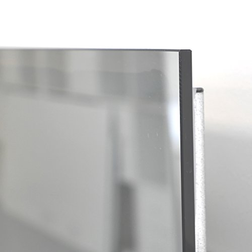 VASNER Zipris SR Infrarotheizung Spiegel 400 Watt rahmenlos, Bad Sicherheit IPX4, TÜV Süd, 5 J. Herstellergarantie, Überhitzungsschutz, 100% Made in Germany, Spiegelheizung
