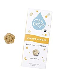 Sweetened Organic Loose Leaf Tea | Instant Citrus Ginger Tea | 10 Handcrafted Best Selling Herbal Te
