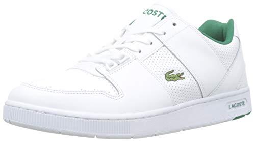 Lacoste Herren Thrill 319 1 Us SMA Sneaker, Weiß (White/Green 082), 44.5 EU
