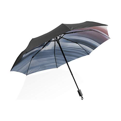 Paraguas Resistentes para Mujeres Coche de Carreras en Pista de Carreras Paraguas portátil Compacto Plegable Protección Anti UV A Prueba de Viento Viajes al Aire Libre Mujeres XL Paraguas para Lluvia
