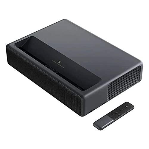 HRRF Proyector Cine Proyector 2000 ANSI LUMENS 150 Pulgadas TV Proyector Entretenimiento Familiar (Color: Negro, Tamaño: 41.00 x 29.10 x 420 Cm)