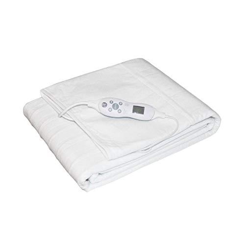 Heizdecke 185 x 76 cm Mit Abschaltautomatik Und 10 Temperaturstufen Wärmeunterbett Für Matratzen Und Massageliegen Matratzenheizung Kurze Aufwärmzeit Und Überhitzungsschutz
