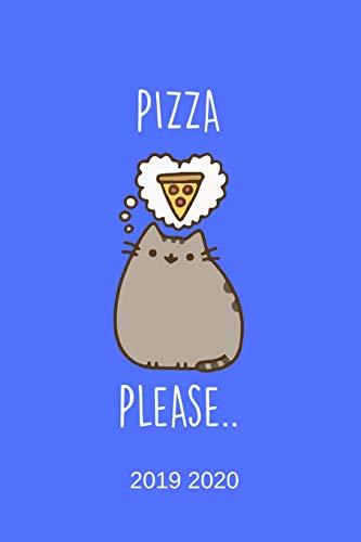 Pizza Please... 2019 2020: Timer, Terminplaner, Hausaufgabenheft und Kalender von Juli 2019 bis August 2020 - Semesterkalender, Studentenkalender und ... Habit Tracker und reichlich Platz für To-Do's