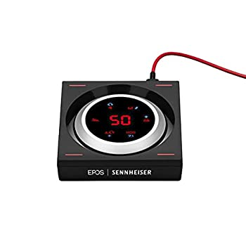 EPOS | Sennheiser GSX 1000 Gaming Audio Amplifier / External Sound Card with 7.1 Surround Sound Side Tone Gaming DAC and EQ Headphone amp Compatible with Windows Mac Laptops and Desktops.