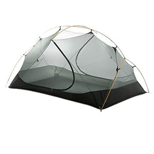 3F UL Gear Tienda de campaña para Acampar 3-4 Temporada 15D Exterior Ultraligero de Nailon Recubierto de Silicona Tiendas de campaña a Prueba de Agua Nube Flotante 2-Cuenta Interna
