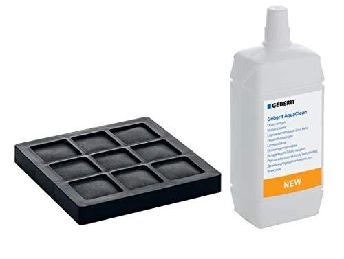 Geberit Aqua Clean Aktivkohlefilter und Düsenreiniger