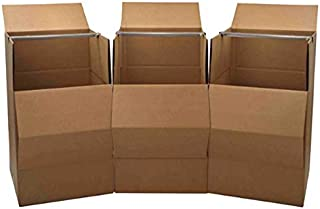 Moving Boxes - Cheap Cheap Moving Boxes (Wardrobe Boxes (Pack of 3))