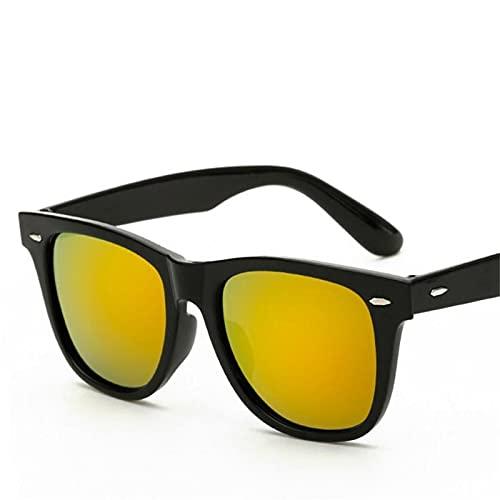 ShFhhwrl Clásico Gafas De Sol Gafas De Sol Hombre Color Conducción Gafas De Sol Mujer/Hombre Diseñador De La Marca Uv400 Blackr