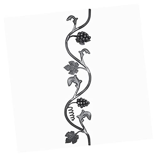 Panneau décoratif 800x165mm diametre 14mm vigne et grappe de raisin