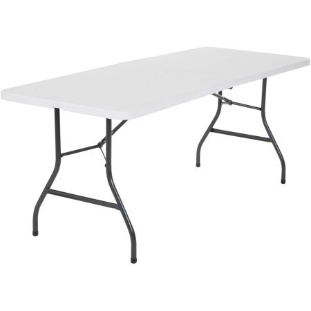 6 Foot Center Folding Cosco Table (White) Brand New & Fast Shipping