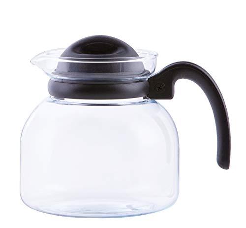 Glas Teekanne Mikrowellenkanne 1,5L