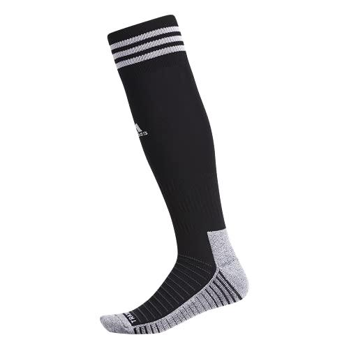 adidas Copa Zone Traxion 4 - Calcetines de fútbol unisex (1 par), Unisex Hombre, OTC Sock-Team, 977772, Negro / blanco, Medium