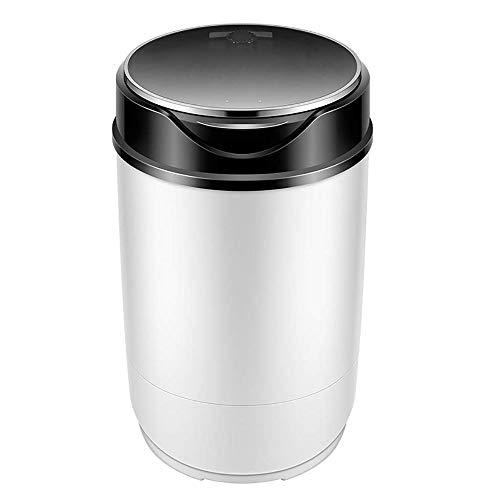 KYL Compact tragbare Mini-Waschmaschine 4.8kg Kapazität, Waschmaschine und Spiner, Einbauschränke Ablaufpumpe oder Halbautomatisch