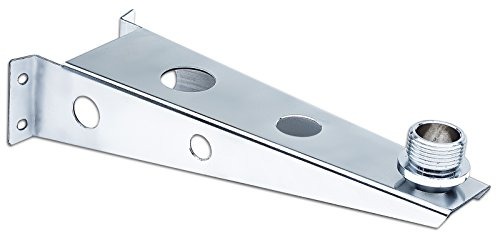 Sailboat antenna masthead standoff bracket Scout PA82. solid 316 stainless steel with mirror finish. 9 inches. Universal threading, Will fit all marine antennas including the Scout Cruiser TV antenna