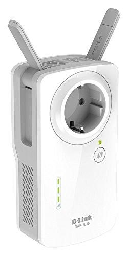 D-Link DAP-1635 Ripetitore Wireless AC1200 con Presa Passante, Dual Band, 1 Porta, 10/100/1000 Mbps