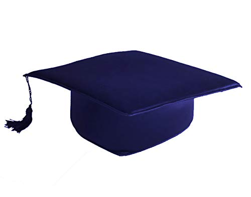 Tiltextil Birrete de Graduación Adulto Unisex, Azul, Talla Única