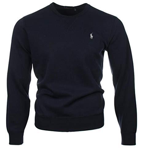 Ralph Lauren Rundhals Sweat-Pullover - Navy oder Grau (Navy, M)